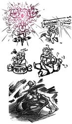 Doodle Dump 20 - Ginger Hibiscus Marshmellows