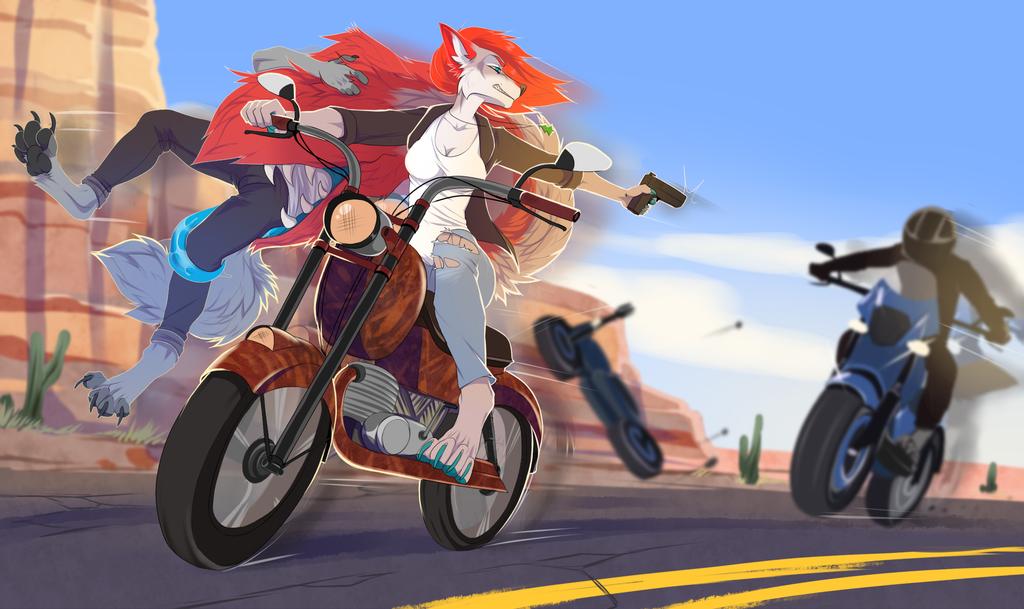Battle Bikers - By drmax