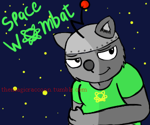 Most recent image: Space Wombat