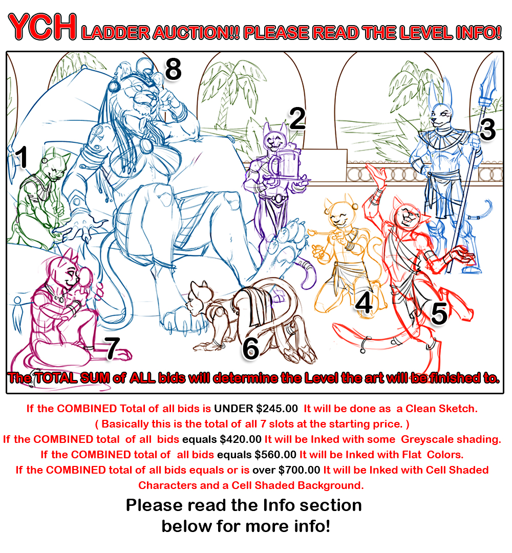 "Your Character Here ! Ladder Auction "" Serving Sekhmet """