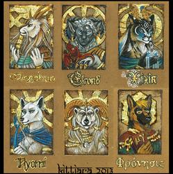 Byzantine Badges - AC 2013