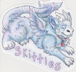 skittles badge
