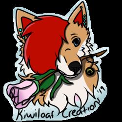 Kiwiloaf Creations logo/watermark