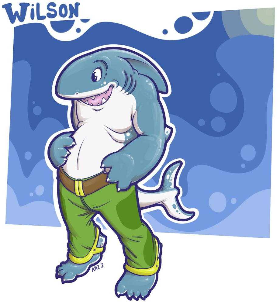 Wilson's A Shark