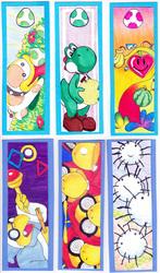 Yoshi's Island/Story Themed Bookmarks