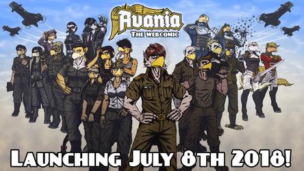 Avania Webcomic - Two Week Countdown