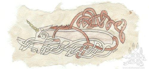 Celtic Unicorn
