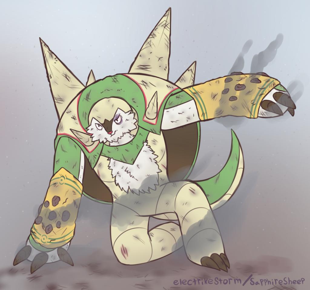 Battle Worn Chesnaught - [COM]
