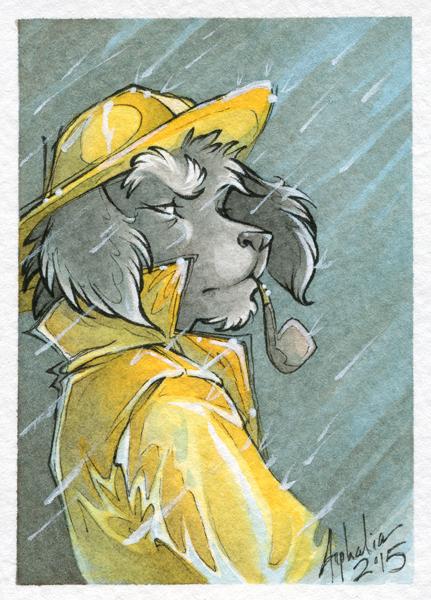 Art Card - Salty Old Dog