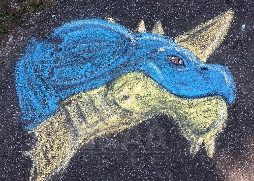 Chalk Art - Ori