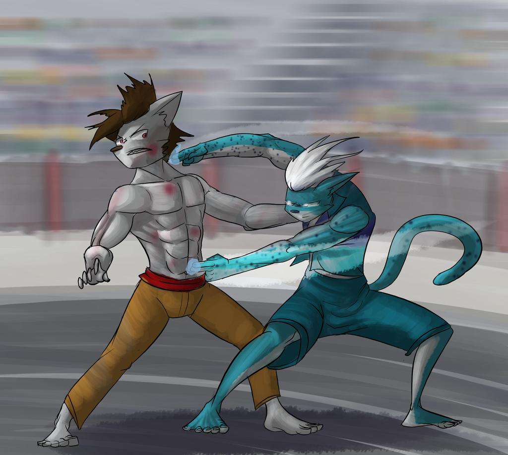 The Tournament Saga - Rinji vs Yusuke Cover 1