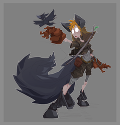 Ameli, the Werewolf!