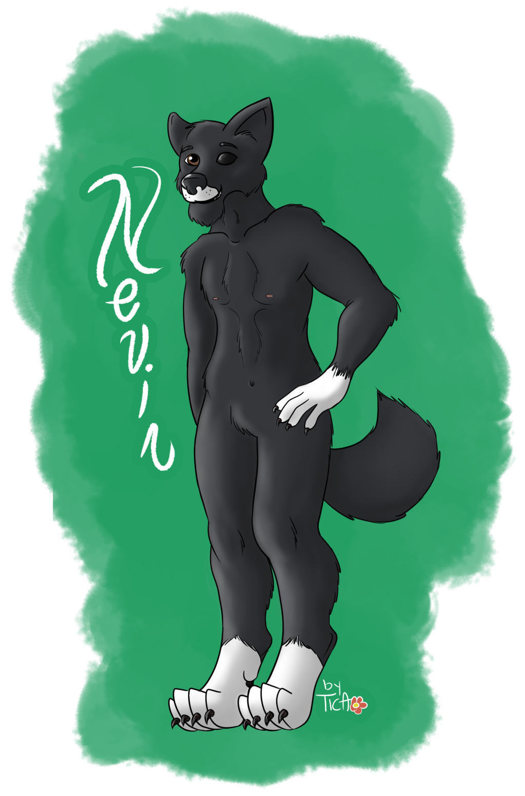 Featured image: Commission: badge for Nevir, RMFC 2014