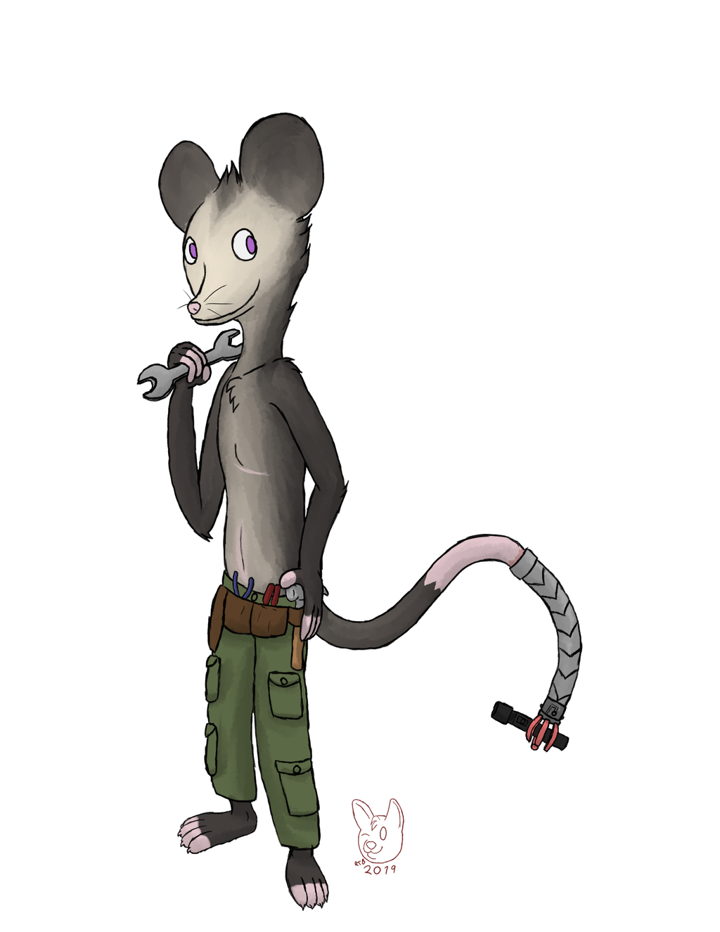 Commission - Alex the Possum