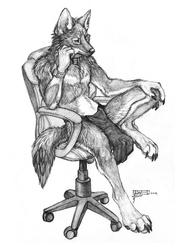 """Thinking Chair"" by Coyox/Qzurr"