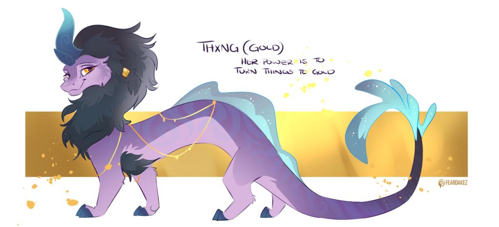 Gift for Rvi | Thxong (Gold) | FEARDAKEZ