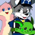 Pokemon and Trainer