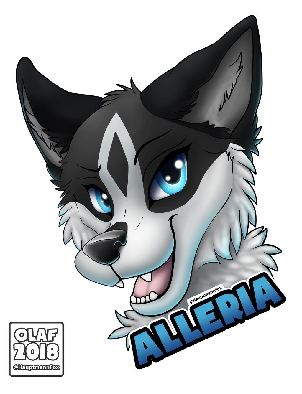 Alleria badge