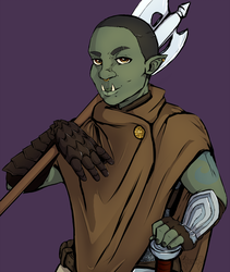 Punch Friend the Orc Battlemaster