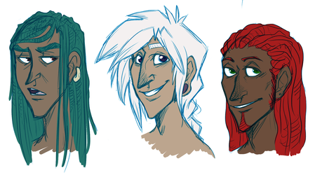 Human Harn, Gam and Fel