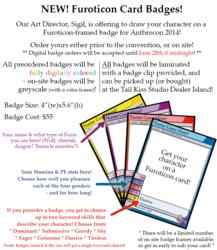 [FUROTICON] Card Badges!