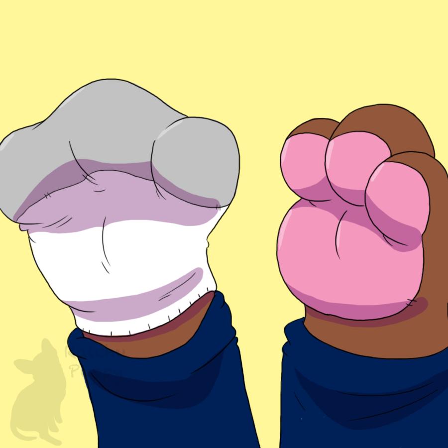 Half Bear Paws
