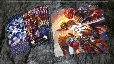 2017 Calendar Samurai