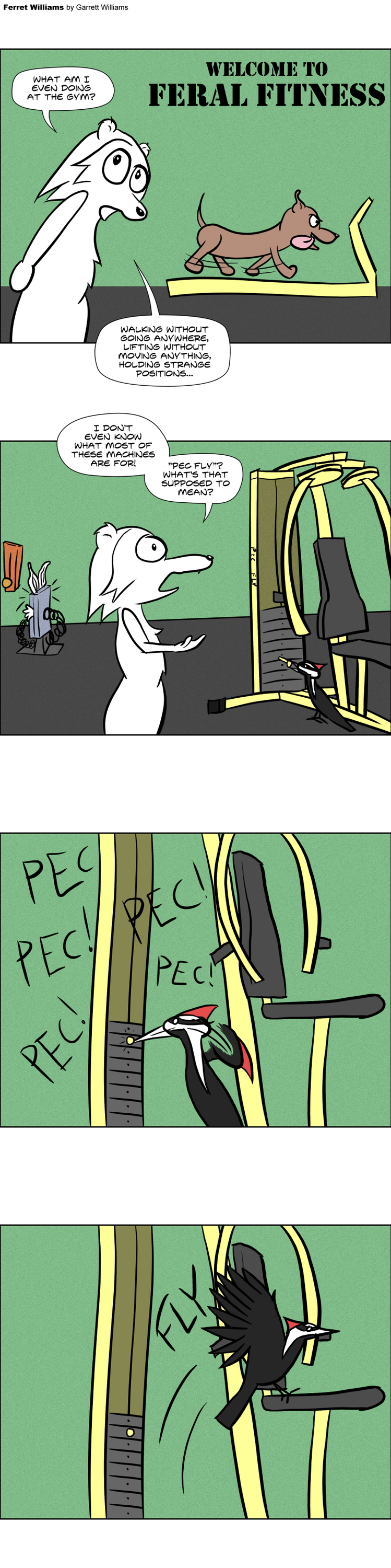 Most recent image: Feral Fitness