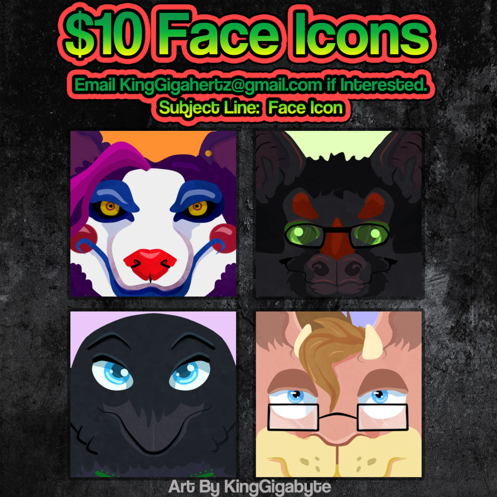 Icon Commissions Open !