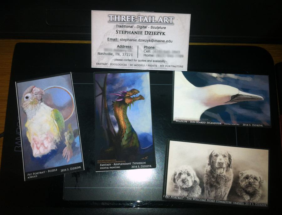 Business Art Trading Cards!