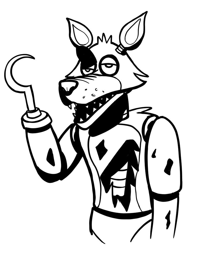 Inktober #14 - Foxy
