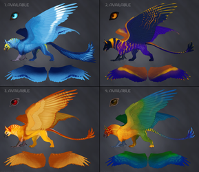 Gryphon Adopts - Batch 3