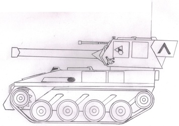 """SF """"Bobcat"""" Light Tank"""