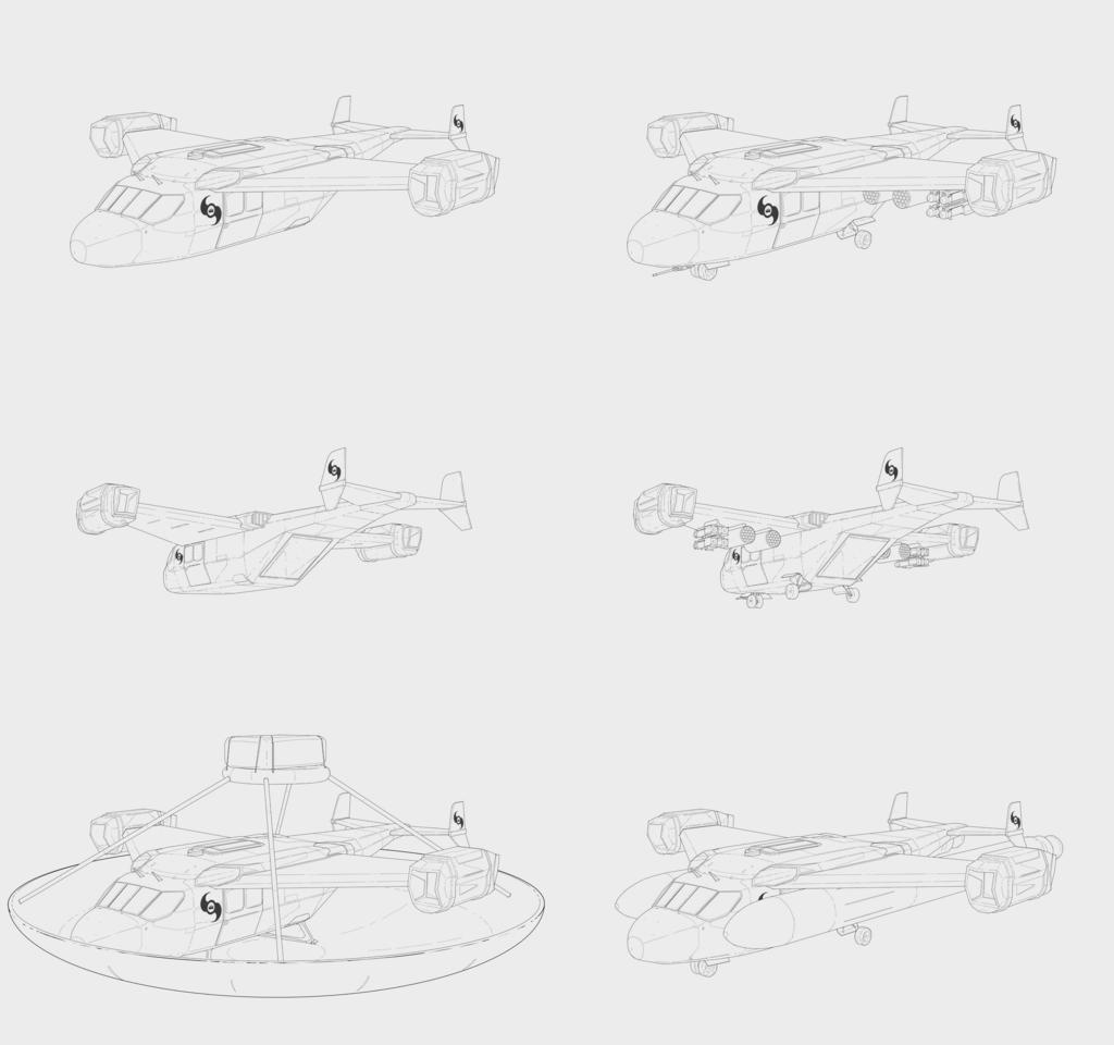 OAD-2L3 Armed Gunship