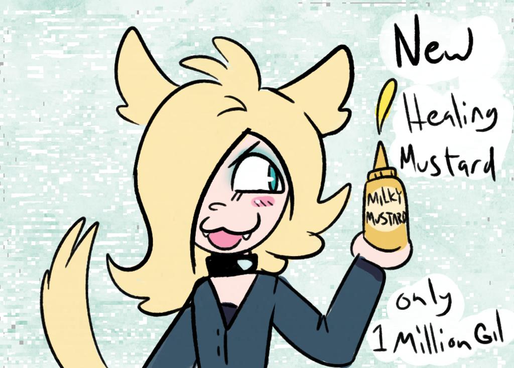 milky mustard
