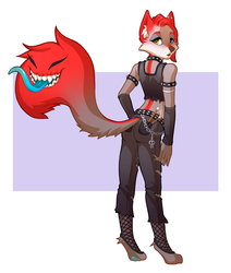 Rebellious Taylor Renee - By Teumes