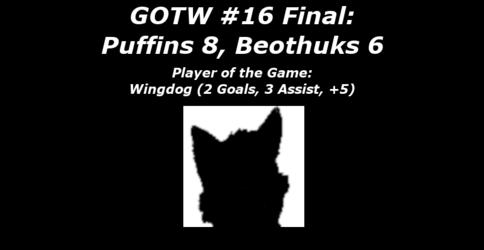 FHL Season 7 GOTW #16 FINAL: Thunder Bay 8, Newfoundland 6