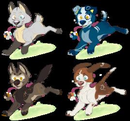 Cute Dog Adopts 4/4 OPEN