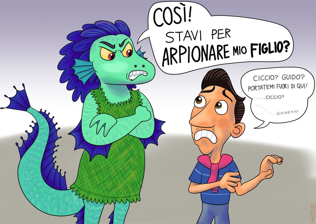 La mamma di Luca affronta Ercole (SPOILER)