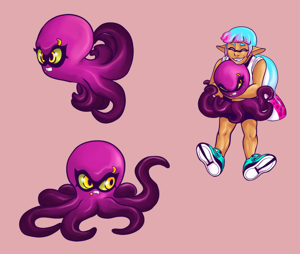 Splatoon - Octo Form