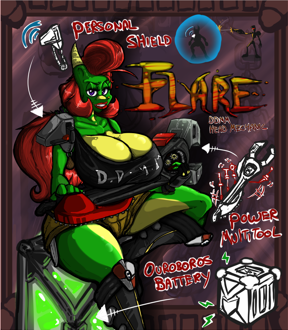 Flare - The Mechanic (OLD)