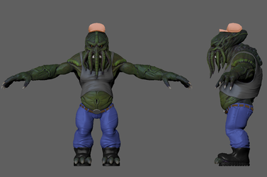 Truckthulhu Color WIP 01