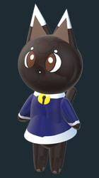 Carol Cat Villager 3D
