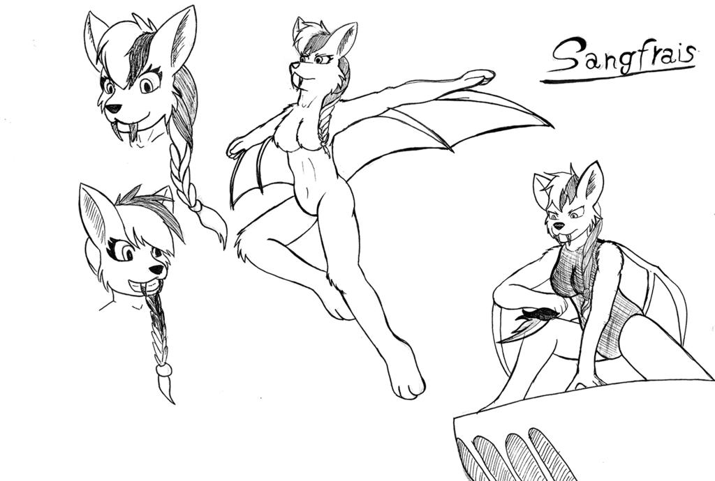 Character Concept: SangFraise