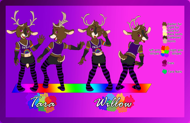 Willow and Tara ref sheet (comission) safe