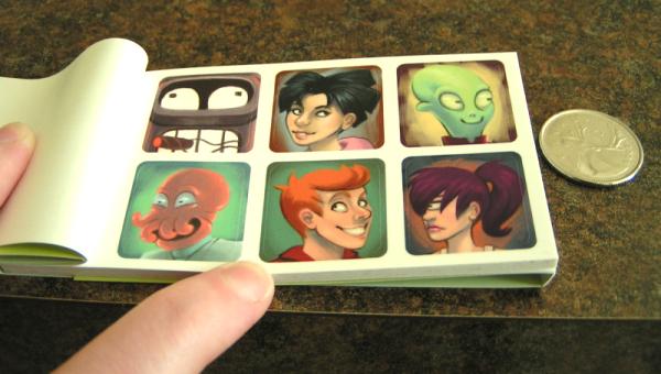 Futurama Stickers
