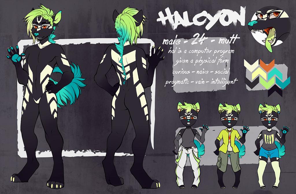 [Ref Sheet] Halcyon