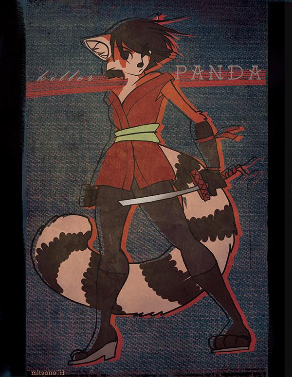 panda ninja - offset