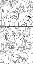 """Com: """"This Sergal King Requires Paw Worshipers..."""" Page 1"""