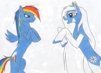 My Little Pony - Moshie Meets Rainbow Dash